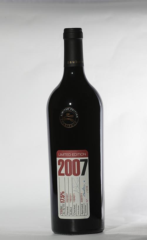 יין קברנה 2007 מהדורה מוגבלת יקב זאוברמן